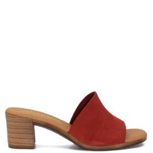 Δερμάτινο Πέδιλο Shoe Step κωδ 66 κόκκινο