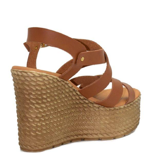Πλατφόρμες Shoe Step κωδ 725 ταμπά