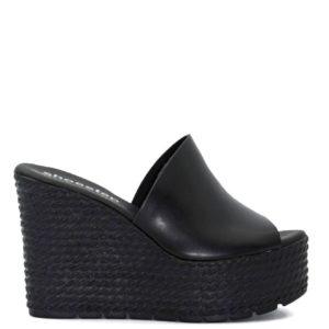 Πλατφόρμα Shoe Step κωδ 720 μαύρο