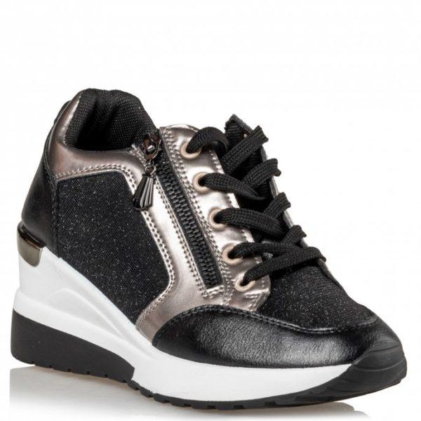 Γυναικεία Sneakers Miss NV V85-12408 μαύρο