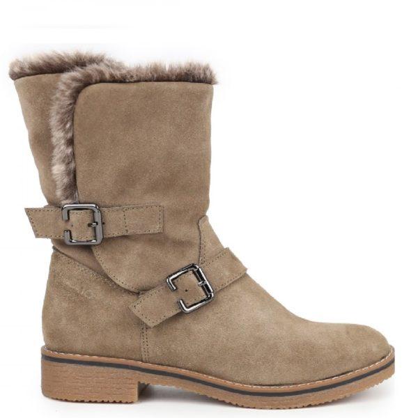 Μπότες SAMANTA14 TAUPE CHICA10