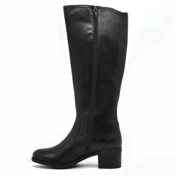 Δερμάτινες Μπότες Wikers Μαύρο Χρώμα