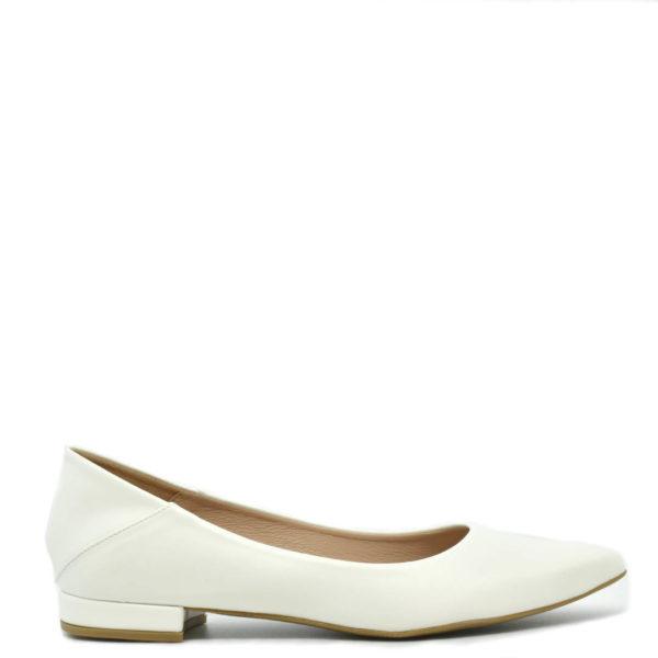 Λευκά Flat Γυναικεία γοβάκια MissNV E02-13122