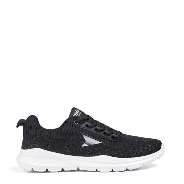 Sneaker B&W black KI2 29302