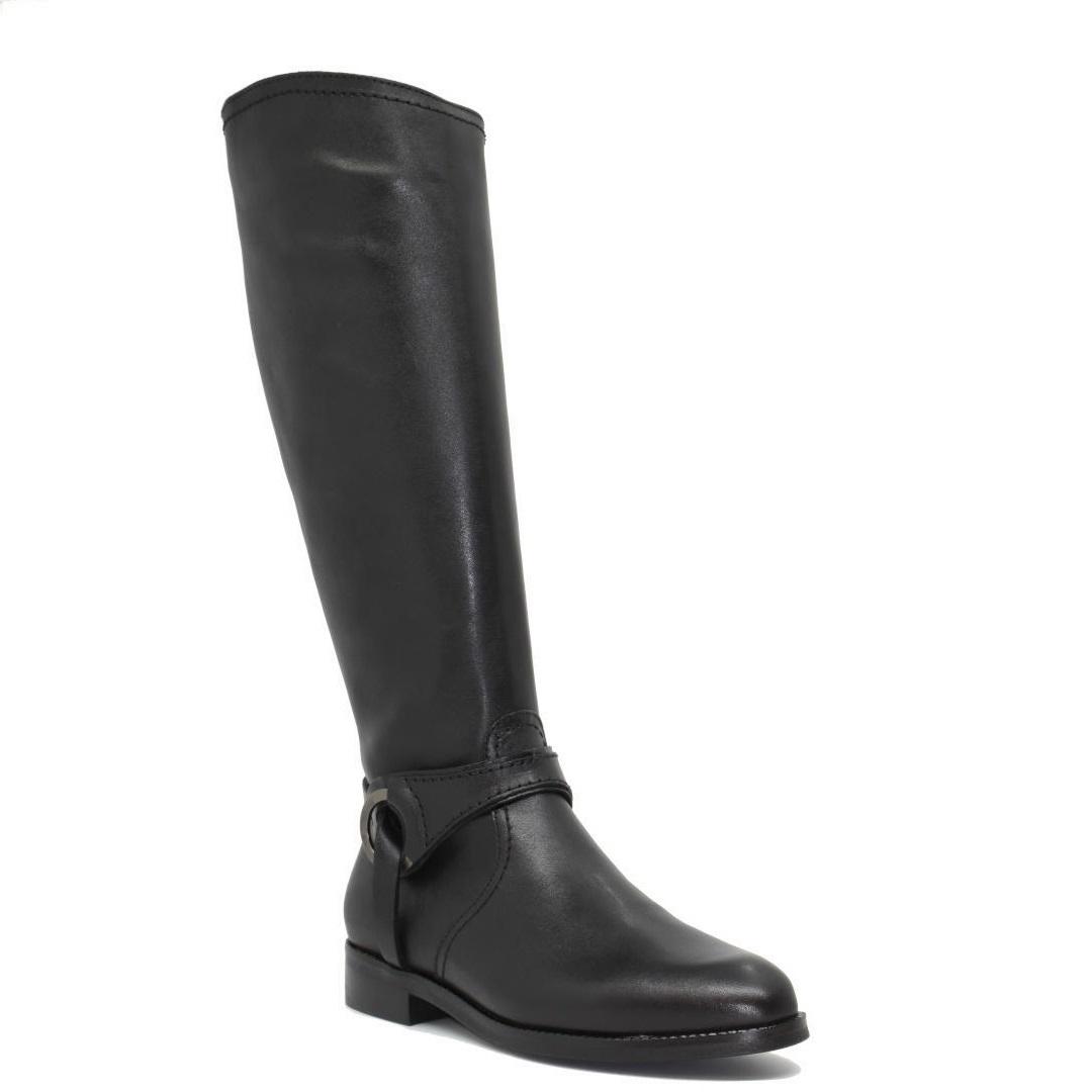 Δερμάτινες Γυναικείες μπότες viguera 8048 Μαύρο
